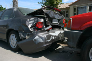 Rear Auto Accident