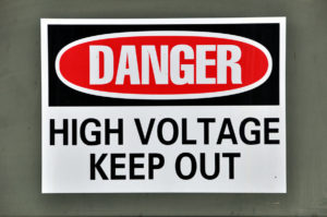 danger high voltage