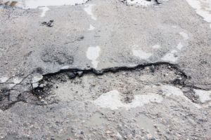holes in road