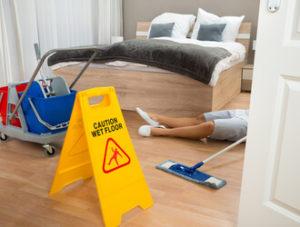 hotel accident
